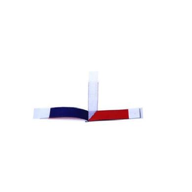 Dental articulator paper - two colors