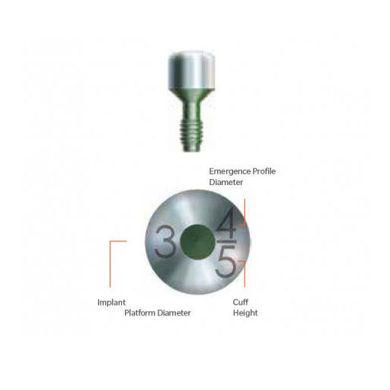 هیلینگ اباتمنت سیستم Tapered Screw-Vent